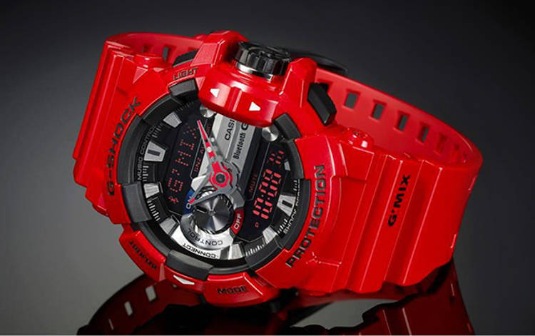 photo de la montre G-SHOCK GBA 400